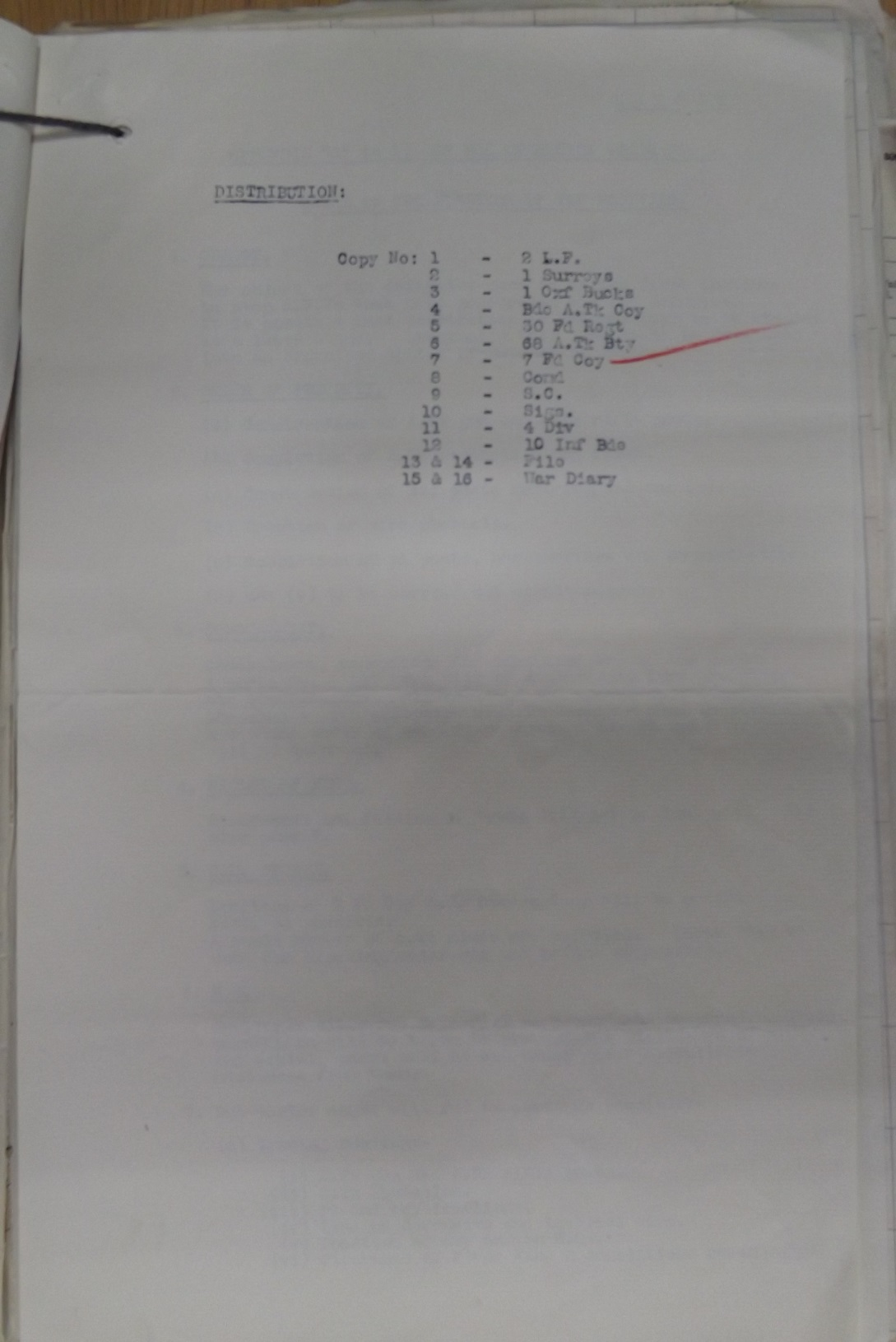 11 Inf Bde Operation Order No 3 19 Oct 1939 pge 3